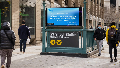 digital out of home advertising in new york city