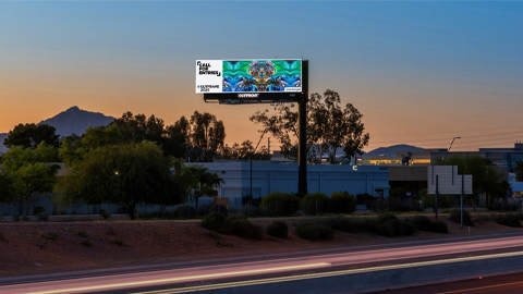 out of home advertising for outfront media