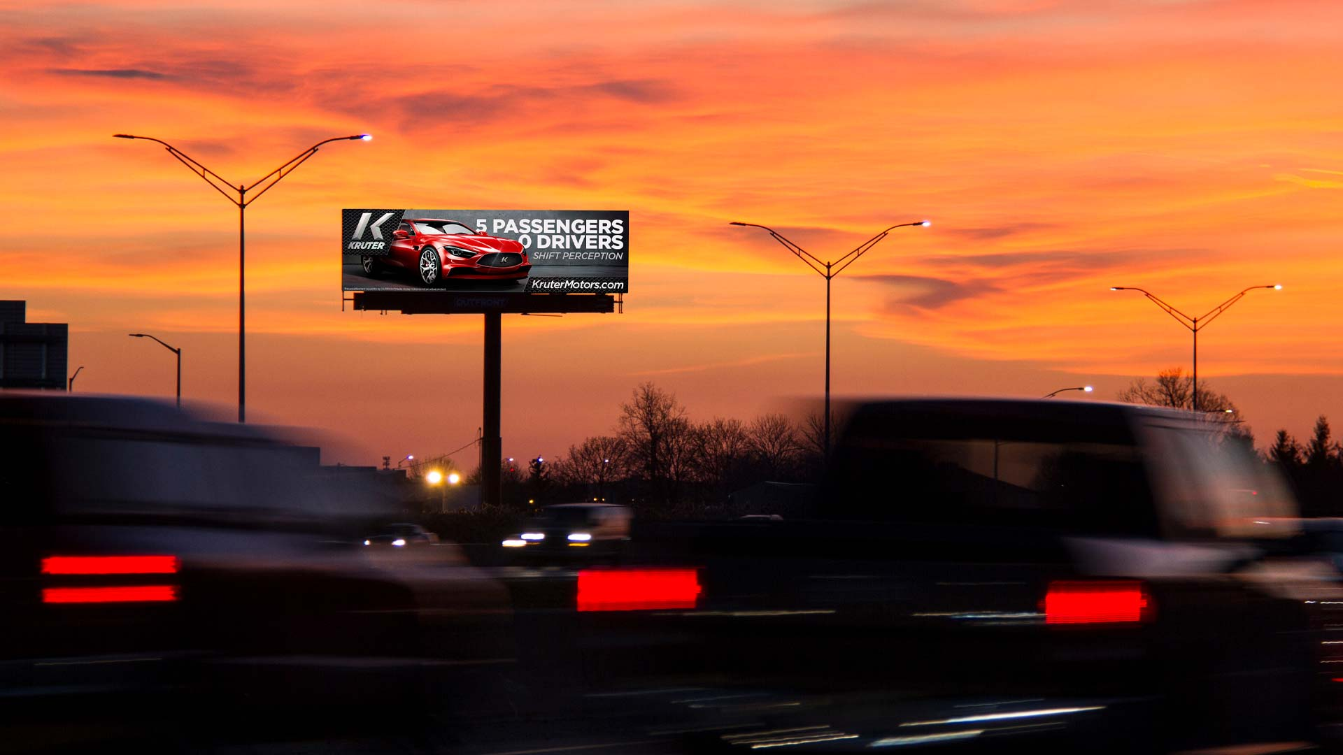 outfront studios for kruter motors digital billboard out of home advertising