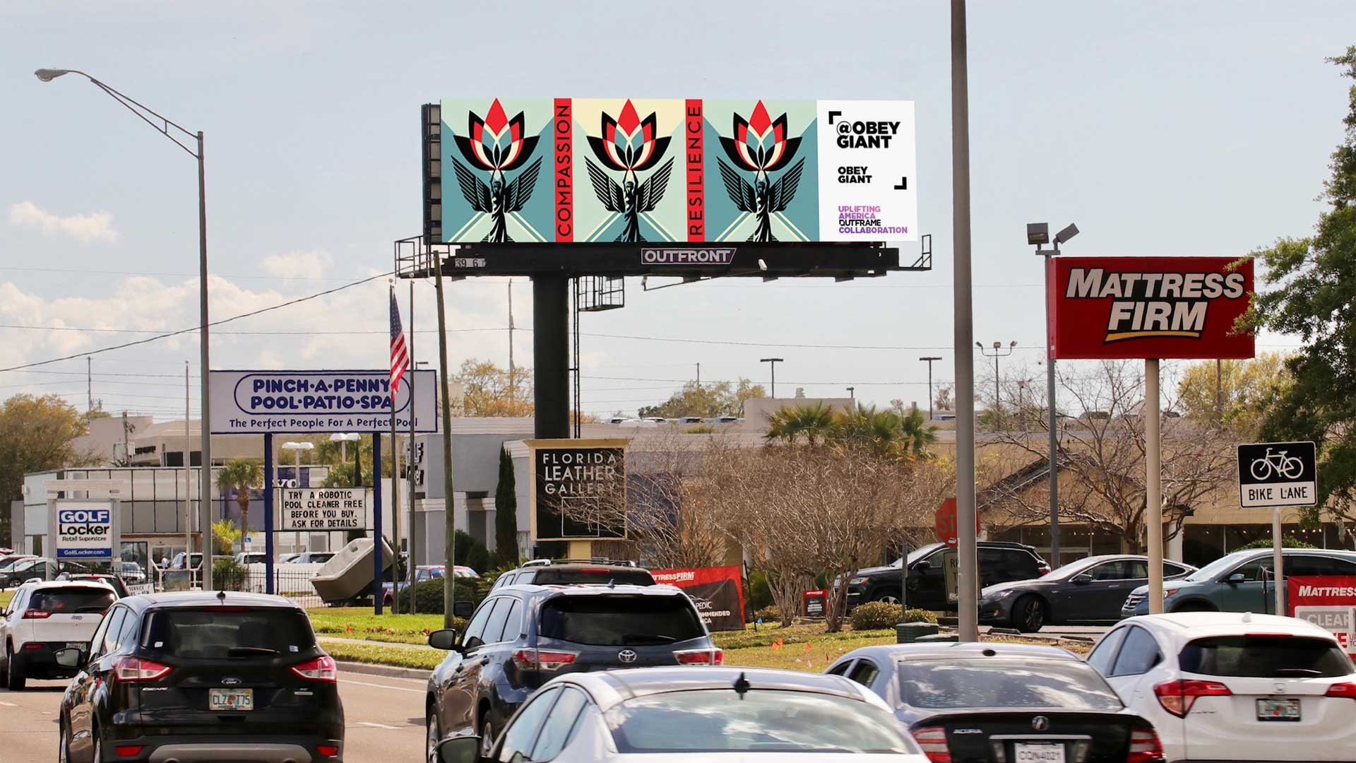 obey giant highway billboard out of home advertising in florida