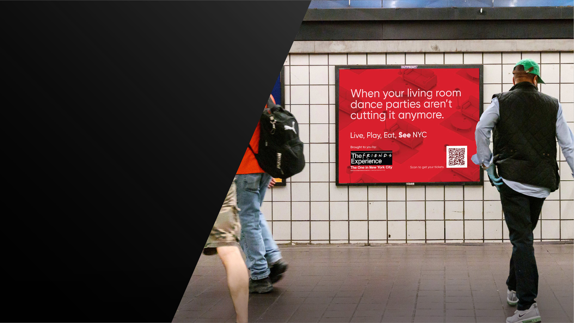 transit out of home advertising in new york city