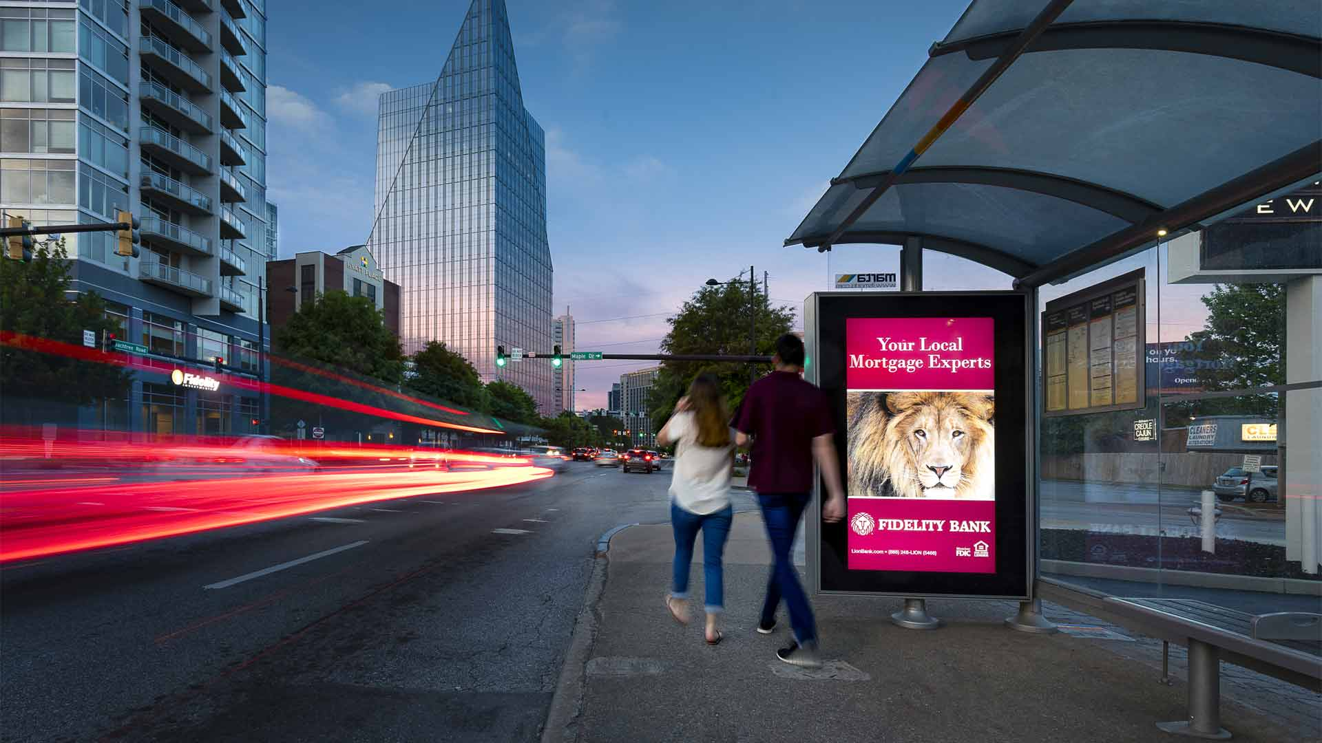 Digital Street Furniture | OUTFRONT Media