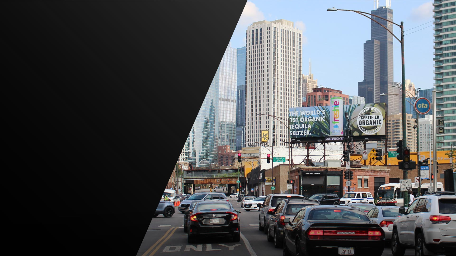 freshie billboard out of home advertising